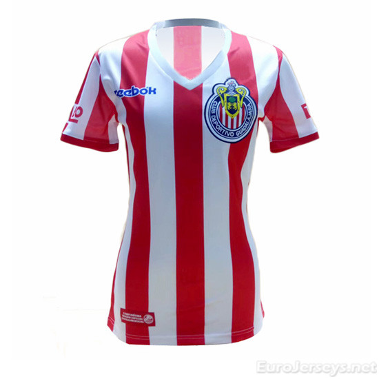 Deportivo Guadalajara 07-08 Home Women's Commemorative Cheap Soccer Jerseys